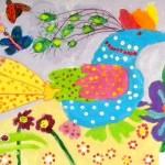 Decorative Bird by Dasha Barin