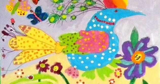artcontes Dasha Barin Decorative Bird
