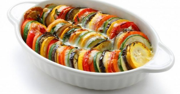 eggplants ratatouille